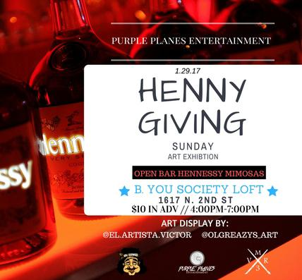 HENNY GIVING SUNDAY
