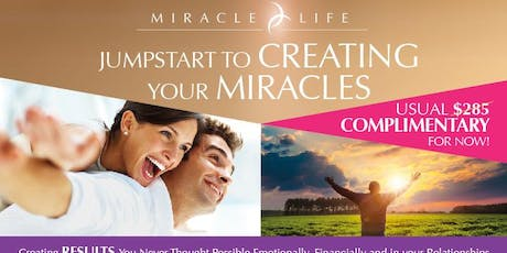 Jumpstart to Creating Your Miracles tickets