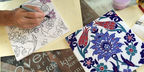 Turkish Pottery (Cini) Painting Classes tickets