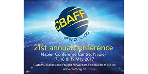 CBAFF Annual Conference 2017 (please see registration...