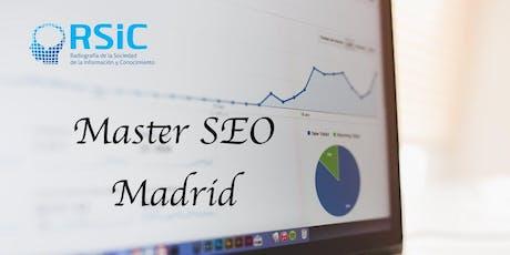 Curso SEO Madrid certificado por el Estudio General de Internet entradas