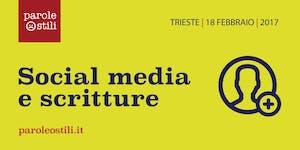 Panel Social media e scritture