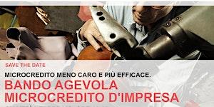 Microcredito meno caro e più efficace: BANDO AGEVOLA...