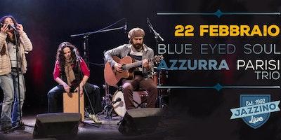 "Azzurra Parisi trio ""Blue Eyed Soul"" live at Jazzino"