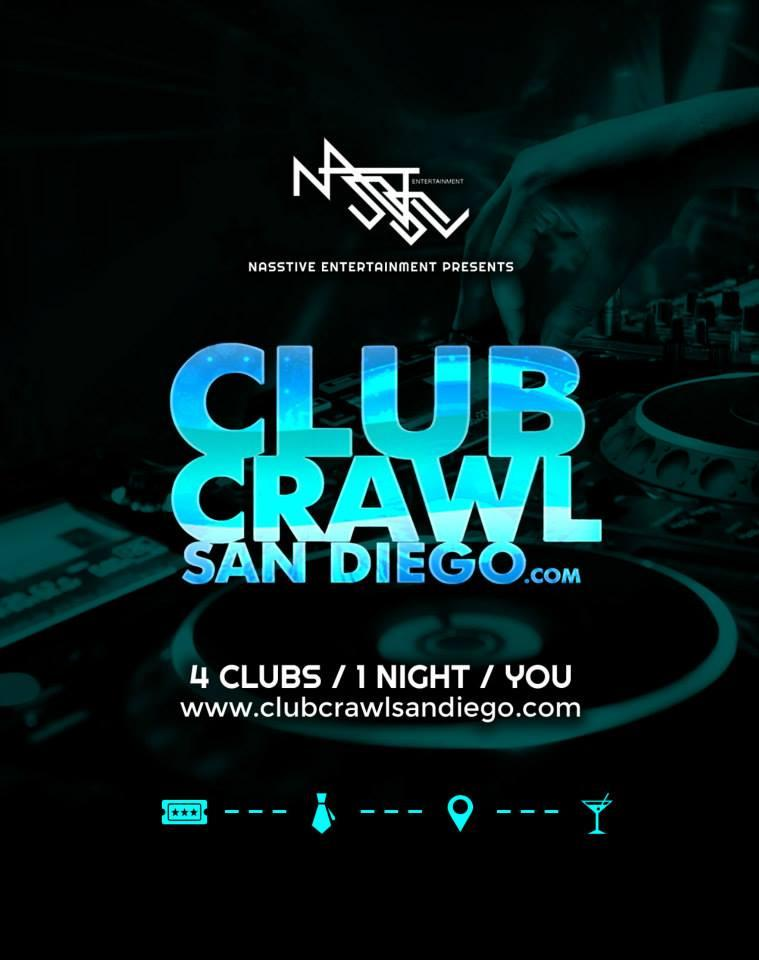 Club Crawl San Diego. Club Crawl San Diego