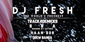 DJ.FRESH, TRACKADEMICKS, HAAN808, SBA, and DREWBANGA...
