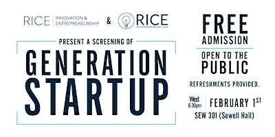 Generation Startup Film Screening