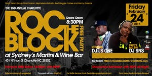 ROC THE BLOCK: FREE PARTY (NYC/MIAMI DJ LS ONE &...