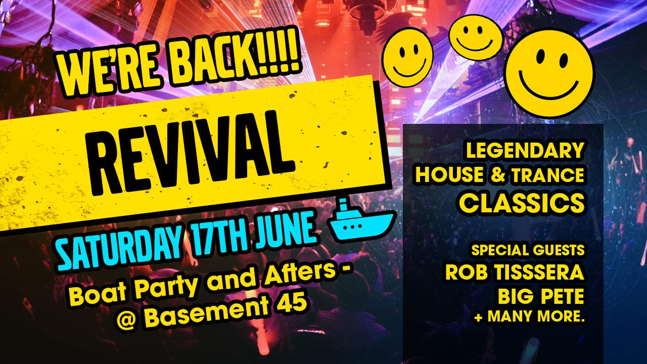 Revival 'Wig Party' - Boat Party & Afters