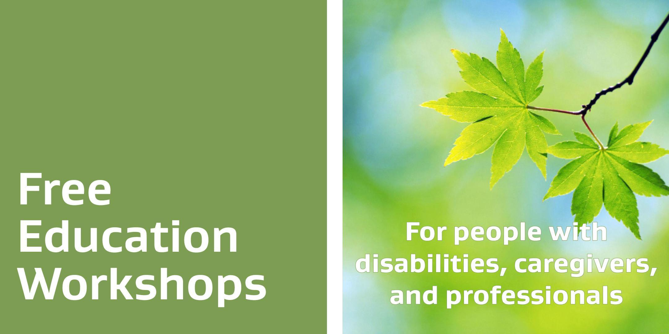 Free Education Workshop - Understanding Perso
