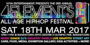 3rd annual 4Elements All Age HipHop Festival
