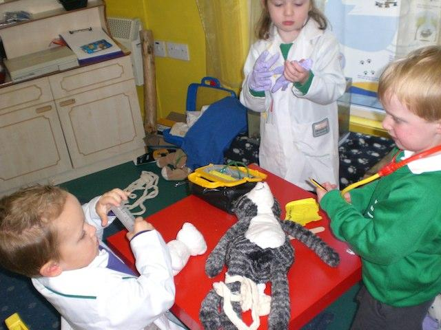 Specialised Play in Healthcare for CYP-Making