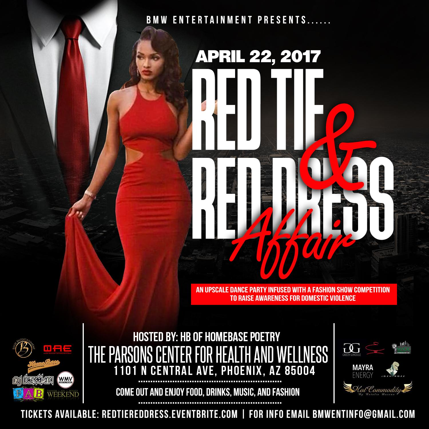The Red Tie & Red Dress Affair. The Red Tie & Red Dress Affair