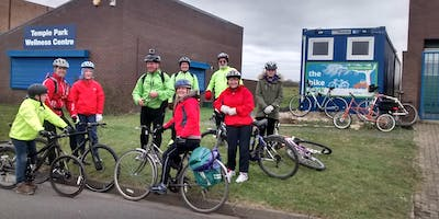 Easy Saturday Social Ride from the Bike Park, South Shields