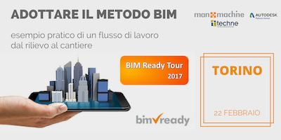 BIM Ready Tour a TORINO | Adottare il METODO BIM