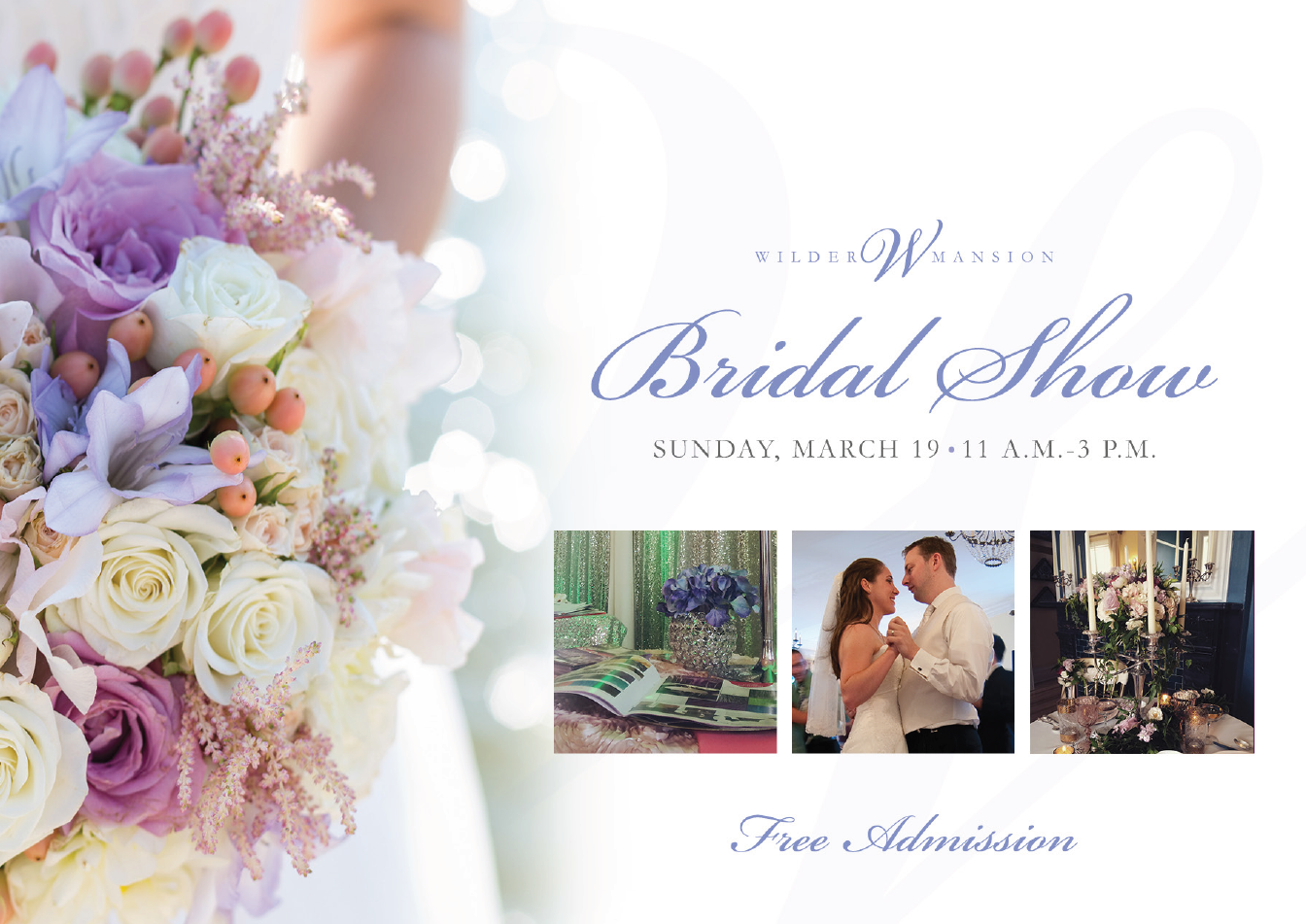 Bridal shows in illinois - Wilder Mansion Bridal Show 2017