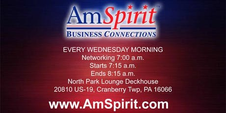 Am Spirit Business Connections Cranberry Chapter tickets
