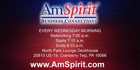 AmSpirit Business Connections Cranberry Chapter tickets