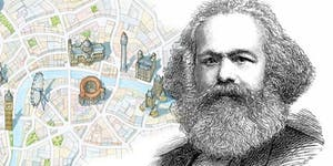 Karl Marx London his life and ideas. A walking tour in...