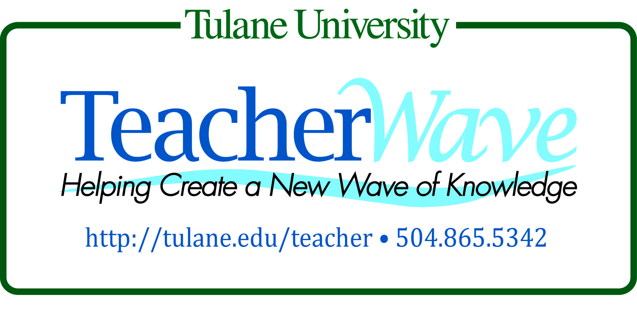 Tulane Teacher Preparation And Certification Program