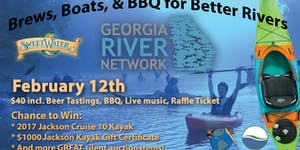 Brews, Boats & BBQ for Better Rivers 2017
