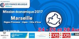 Mission économique Avril 2017 - Marseille : Séance...