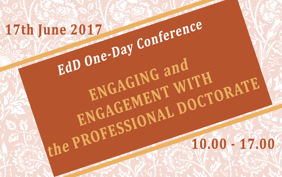EdD One-Day Conference 2017