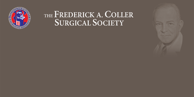 Frederick A. Coller Surgical Society Dues
