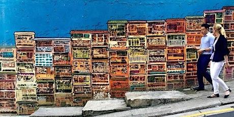 Hong Kong Central Street Art Guided Tour tickets