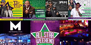 *PARTY GRAS* ALL STAR WEEKEND STARRING... FABOLOUS,...