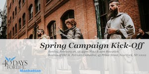 40 Days for Life Spring Campaign Kick-Off