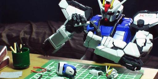 Nebraska Gunpla Builders Meetup at HobbyTown Lincoln