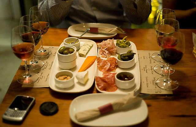 Wine Tasting With Matching Cheese & Cured Mea
