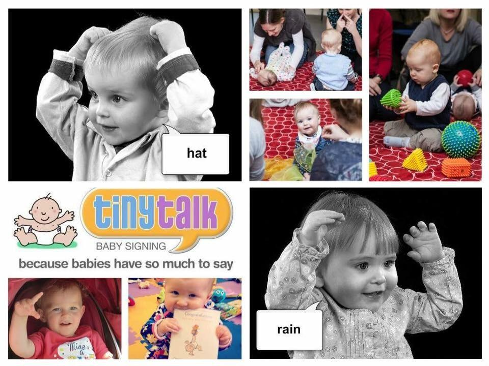 Tiny Talk - Baby Sign (5 date course 28 Apr-2