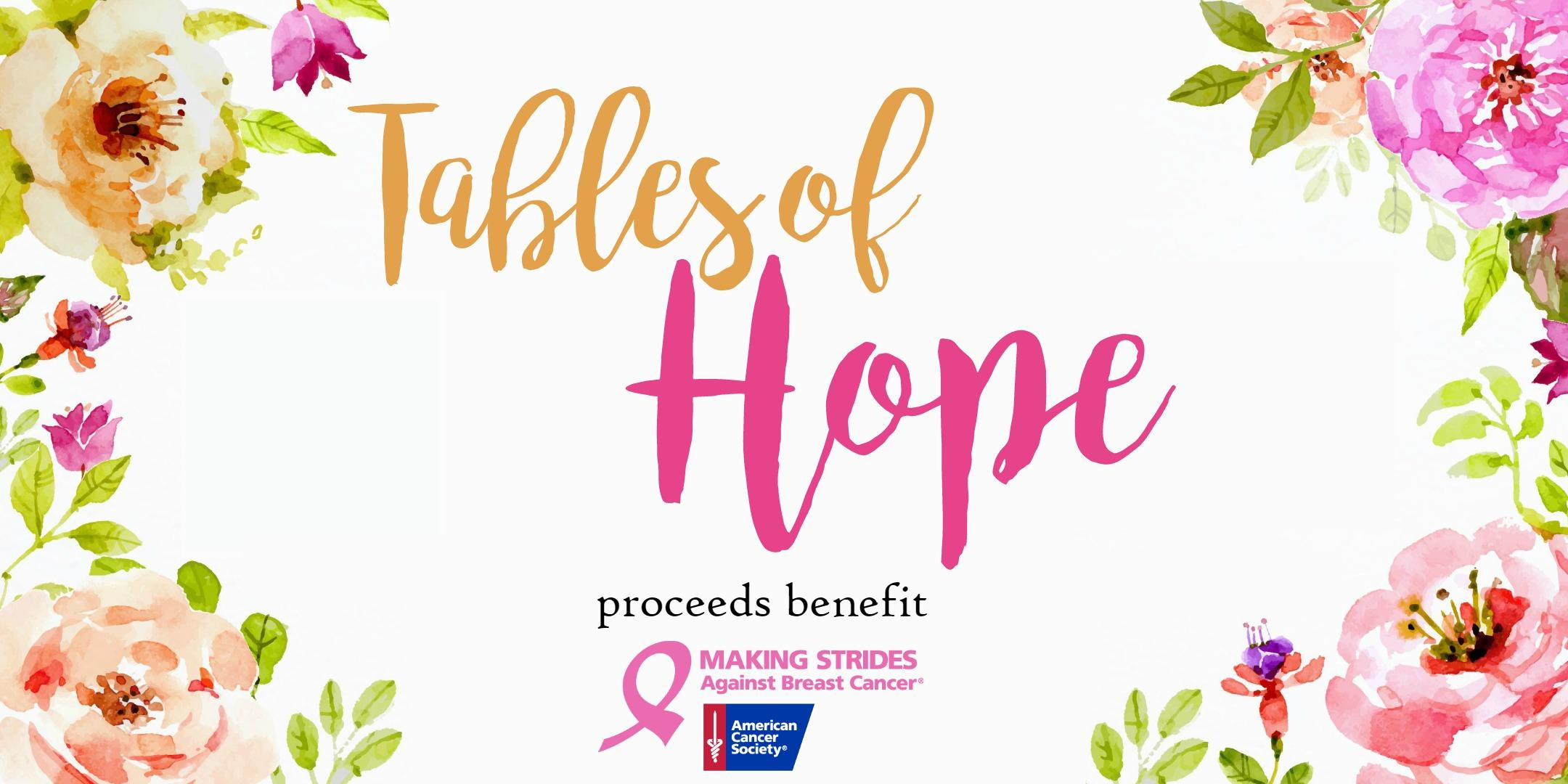 American cancer society kansas city making strides against breast tables of hope m4hsunfo