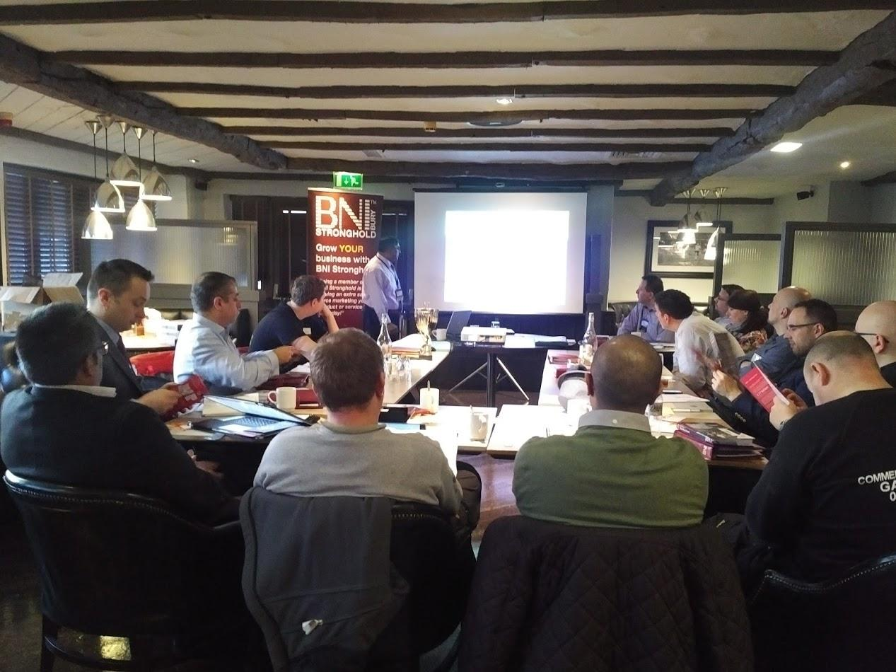 BNI STRONGHOLD BURY BUSINESS REFERRAL GROUP