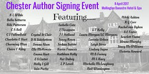 Chester Author Signing Event 2017