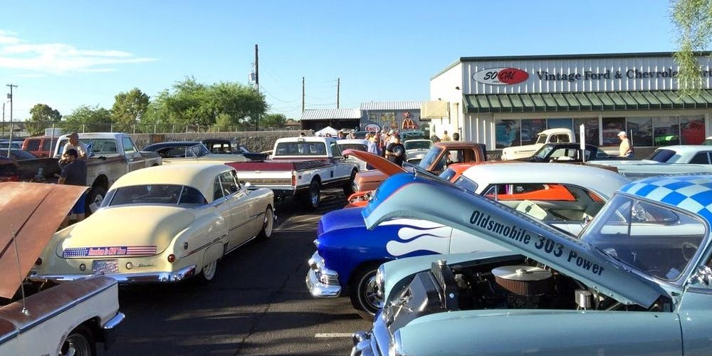 SOCAL Speed Shop AZs Second Saturday Car Show Tickets Multiple - Fountain hills car show