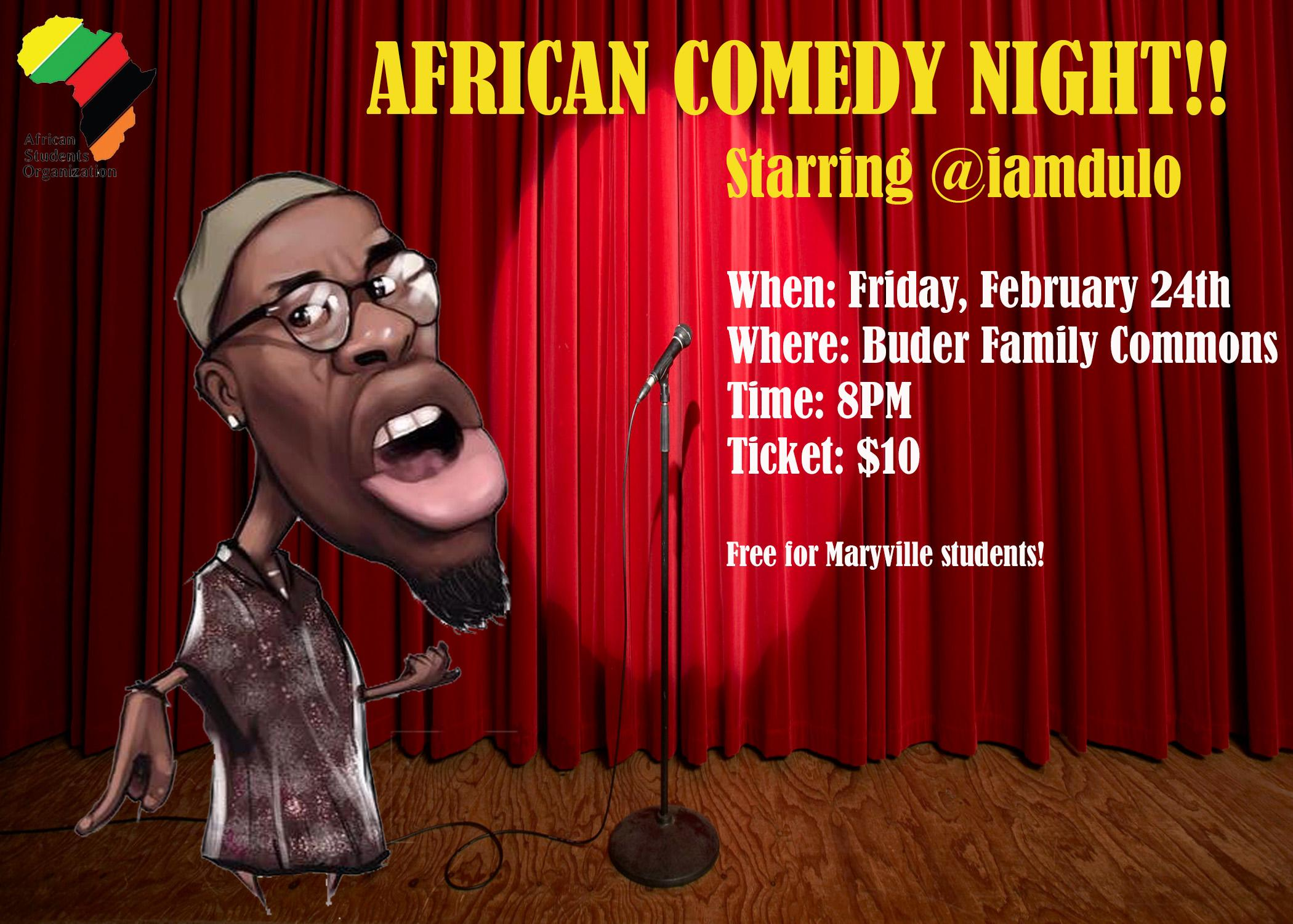 African Comedy Night