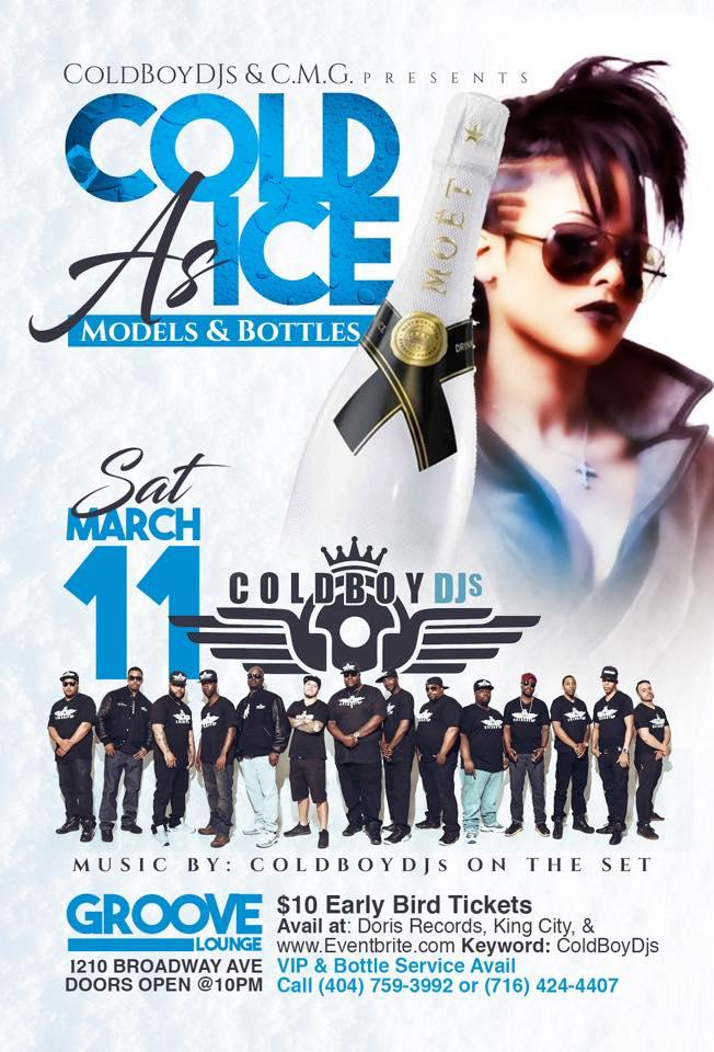 COLD AS ICE: MODELS & BOTTLES ** THE OFFICIAL
