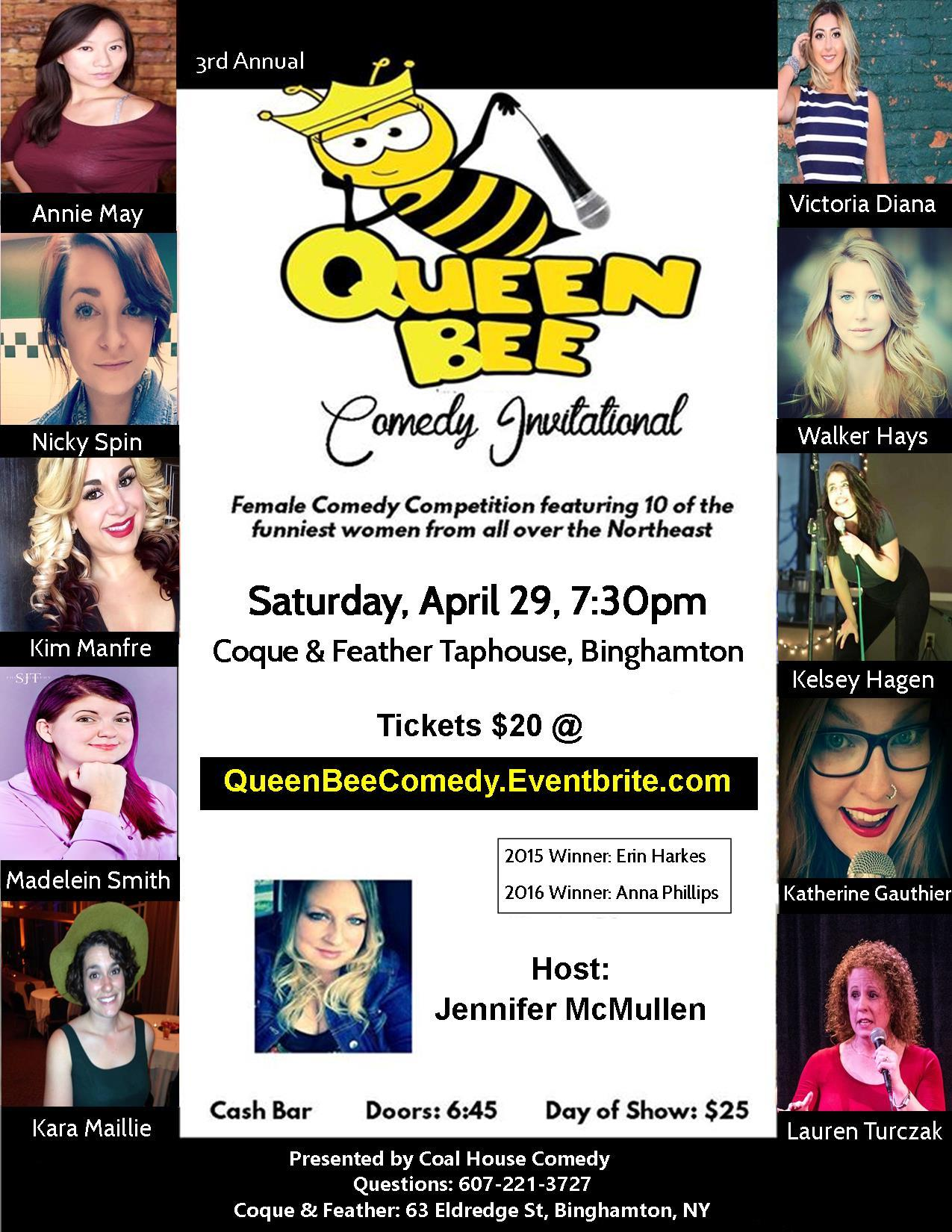 Queen Bee Comedy Show