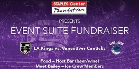 LA Kings Suite Benefit Night tickets