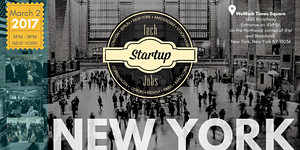 Tech Startup Job Fair New York 2017