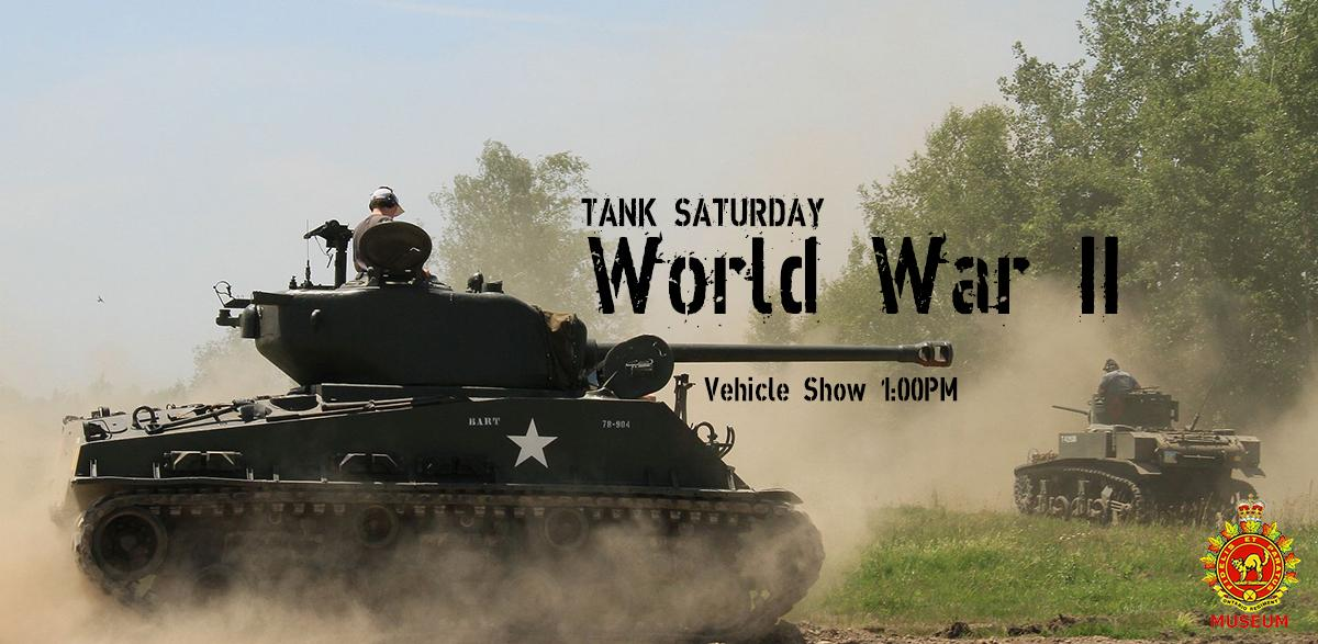 TANK SATURDAY: Second World War