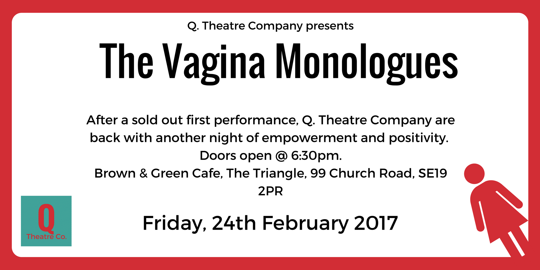 vday london, triangle (tvm) 2017 @ brown and green cafe, the