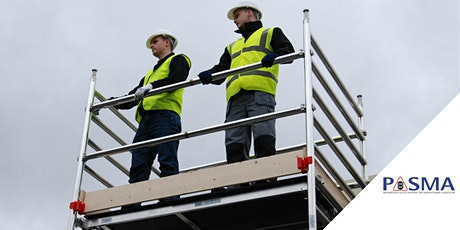 PASMA Work At Height Essentials Course tickets