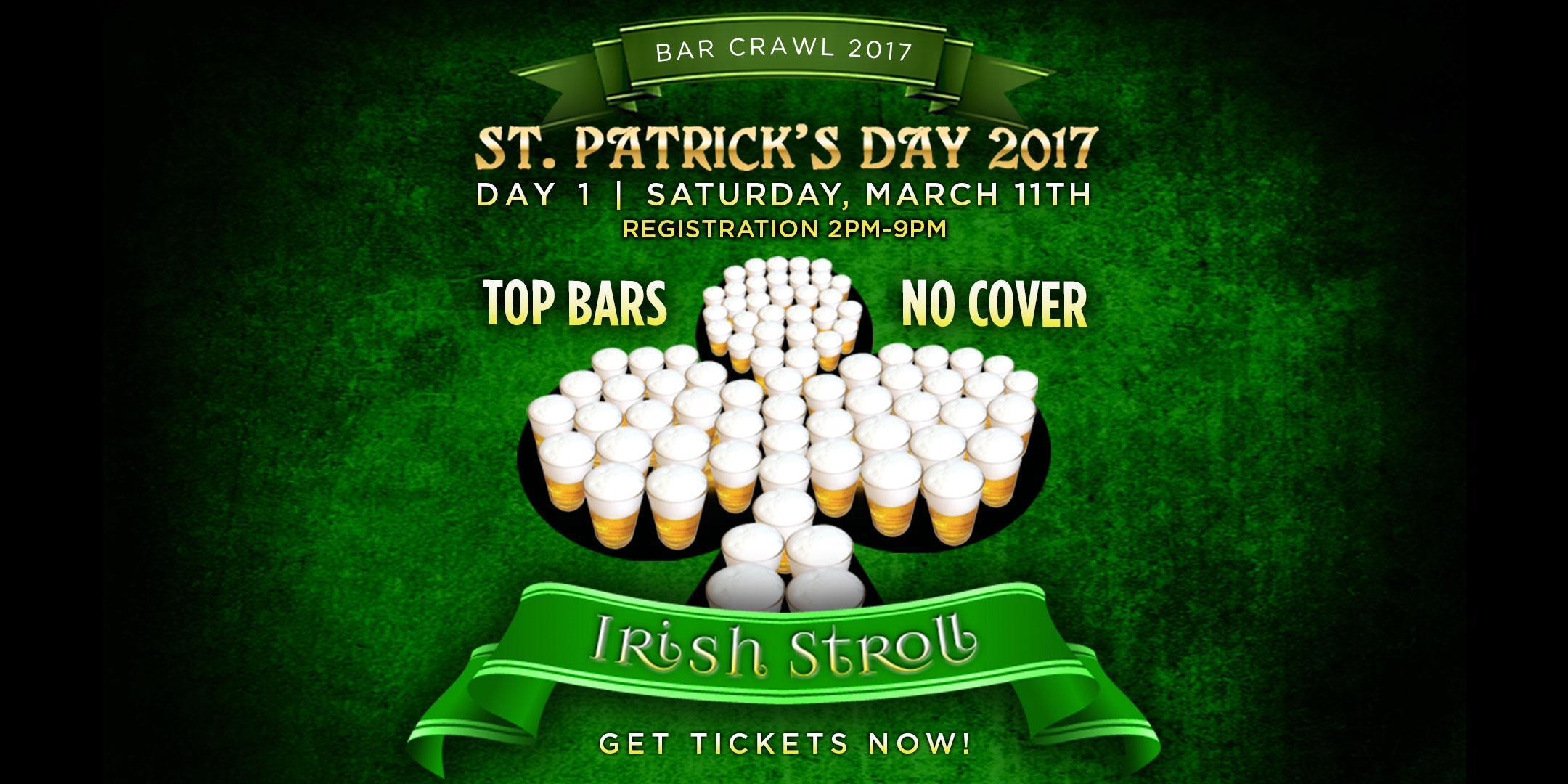 Buffalo's Biggest St Patrick's Day Bar Crawl