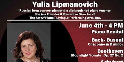 Yulia Lipmanovich,  pianist