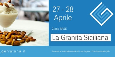 CORSO BASE DI GRANITA