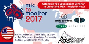 Mic To Monitor - Tri-C Cleveland